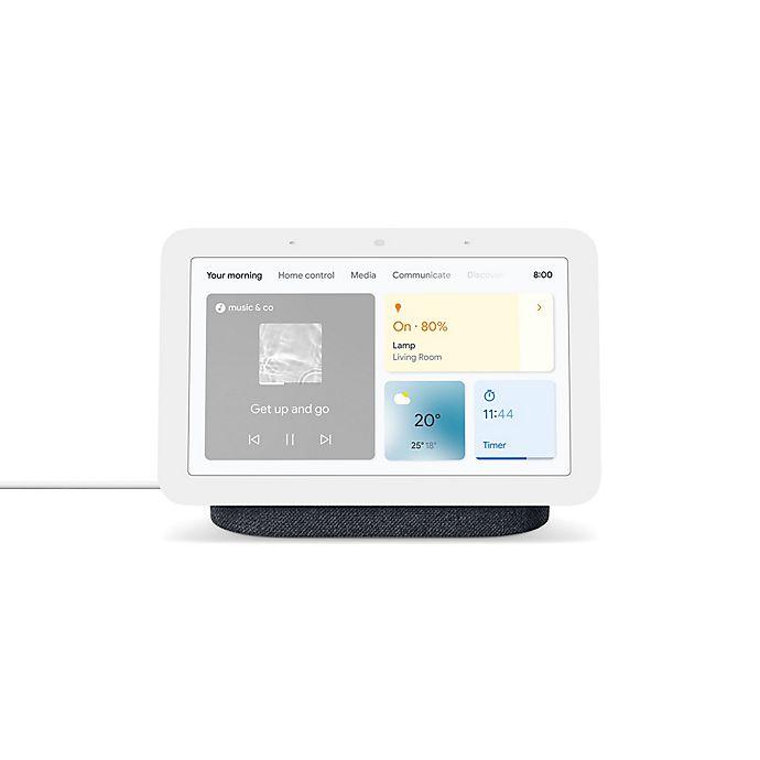 Alternate image 1 for Google Nest Hub 2nd Generation in Charcoal