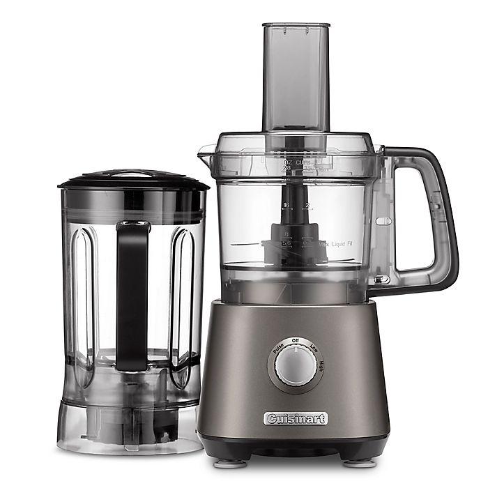 Alternate image 1 for Cuisinart® Compact Kitchen Central Food Processor/Blender in Grey