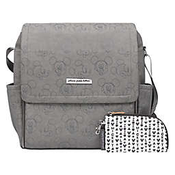 Petunia Pickle Bottom® Love Mickey Boxy Backpack Diaper Bag in Grey