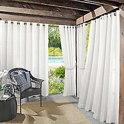 Sun Zero Dermot Indoor/Outdoor UV Protectant Grommet Curtain Panel (Single)