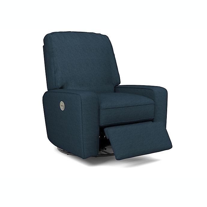 Alternate image 1 for Best Chairs Bilana Power Swivel Glider Recliner