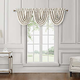 Waterford® Sutherland Waterfall Cascading Valance in Ivory
