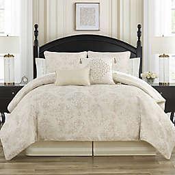 Waterford® Paltrow 4-Piece Reversible Queen Comforter Set in Blush