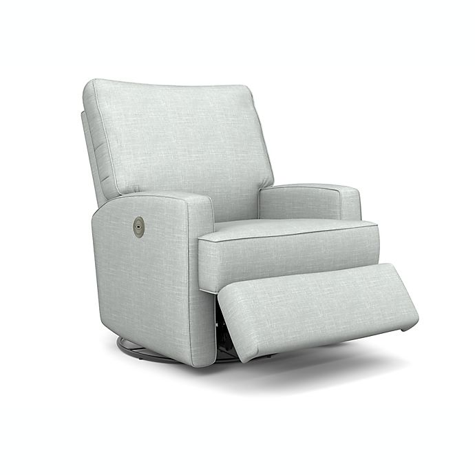 Alternate image 1 for Best Chairs Kersey Power Swivel Glider Recliner