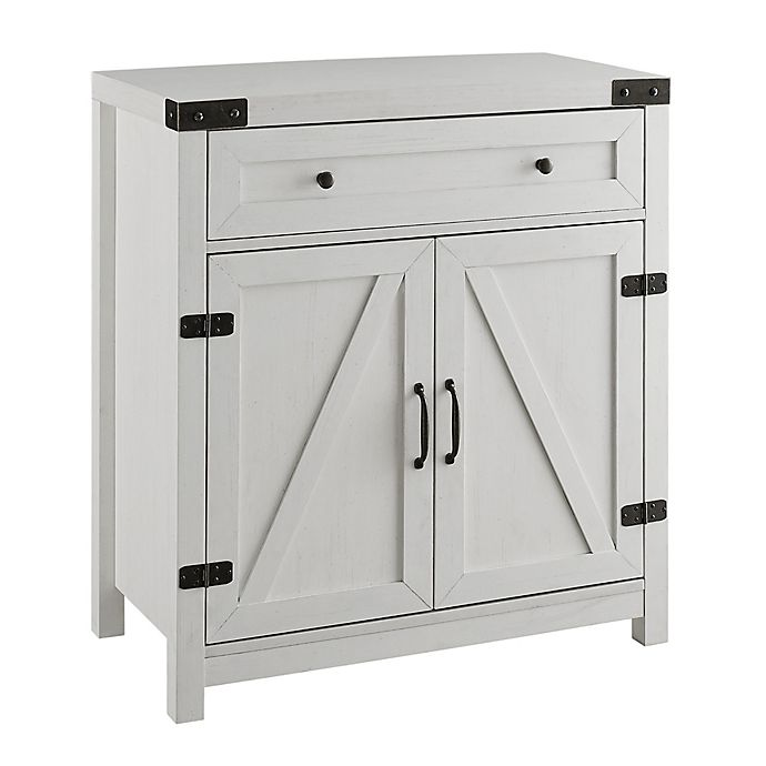 Alternate image 1 for Forest Gate™ Wheatland 30-Inch Barn Door Entryway Cabinet