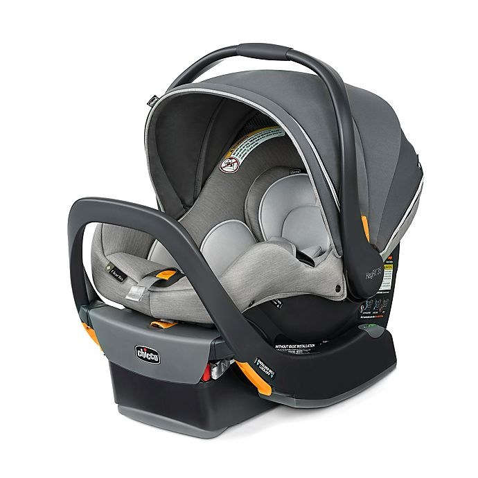 Alternate image 1 for Chicco KeyFit® 35 Zip ClearTex™ Infant Car Seat in Ash