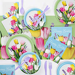 Creative Converting™ 73-Piece Spring Bouquet Easter Party Supplies Kit