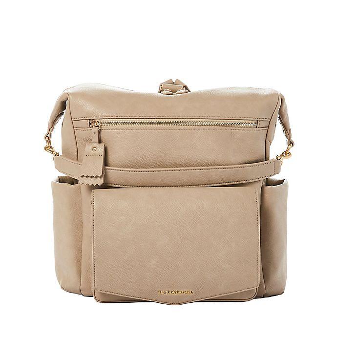 Alternate image 1 for TWELVElittle Peek-A-Boo Hobo Diaper Backpack