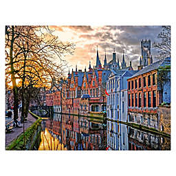 The Canals of Bruges 1500-Piece Jigsaw Puzzle