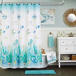 SKL Home™ Ocean Watercolor Shower Curtain
