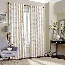Eclipse Correll 63-Inch Rod Pocket/Back Tab Room-Darkening Window Curtain Panel in Ivory