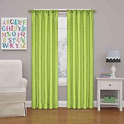 Eclipse Kendall 84-Inch Rod Pocket Room Darkening Window Curtain Panelin Lime (Single)