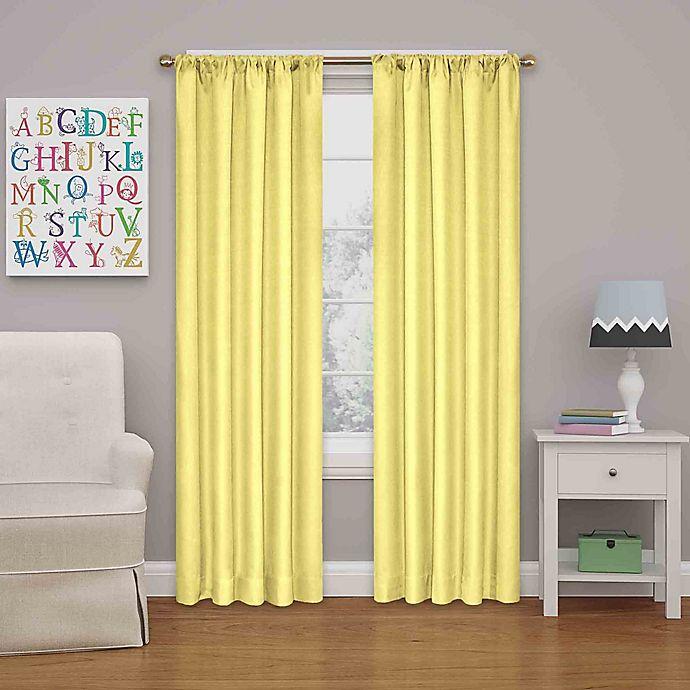 Alternate image 1 for Eclipse Kendall Rod Pocket Room Darkening Window Curtain Panel