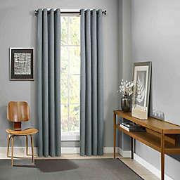 Eclipse Palisade 108-Inch Grommet Top Room Darkening Window Curtain Panel in Mineral (Single)
