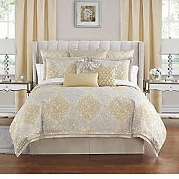 Waterford® Wynne 4-Piece Queen Comforter Set in Gold