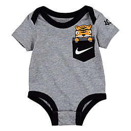 Nike® Little Beasts Bodysuit in Heather Grey