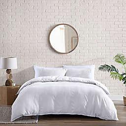 Brielle Home® Billie Garment Washed 3-Piece Duvet Cover Set