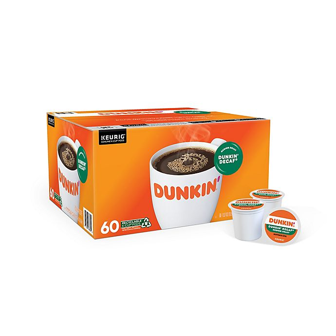 Alternate image 1 for Dunkin' Donuts® Decaf Coffee Keurig® K-Cup® Pods 60-Count