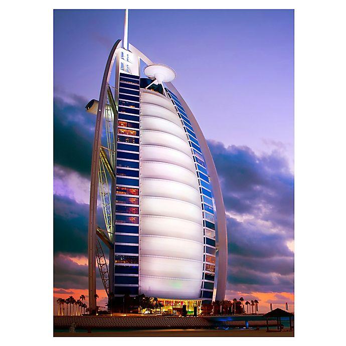 Alternate image 1 for Wuundentoy USA Burj Al Arab, Dubai 500-Piece Jigsaw Puzzle
