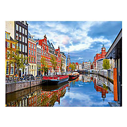 Wuundentoy USA Amstel River, Holland 500-Piece Jigsaw Puzzle