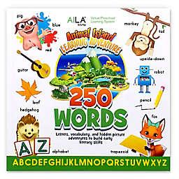 DMAI Animal Island Learning Adventure™ (AILA) Sit & Play 250 Words Book