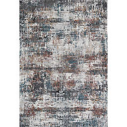 Rugs America Bentley Apple Orchard 8' x 10' Area Rug in White