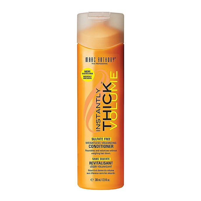 Alternate image 1 for Marc Anthony Instantly Thick 12.9 oz. Weightless Hair Thickening Conditioner