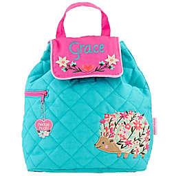 Stephen Joseph® Hedgehog Quilted Backpack in Blue