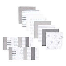 Hudson Baby® 24-Pack Sheep Rayon from Bamboo Washcloths in Grey