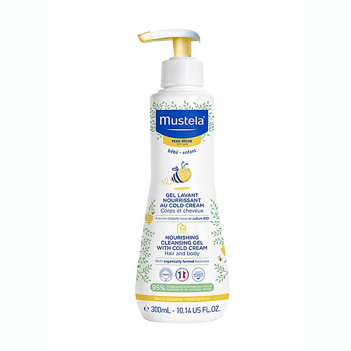 Alternate image 1 for Mustela® Nourishing Cleansing Gel with Cold Cream