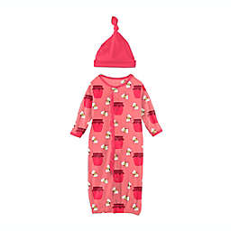 KicKee Pants® Strawberry Bees & Jam 2-Piece Layette Gown Converter