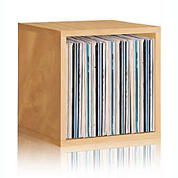 Way Basics Tool-Free Assembly zBoard paperboard Stackable Extra Large Storage Cube in Natural