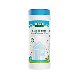 Aleva® Naturals Bamboo Baby® 60-Count Multi-Surface Wipes