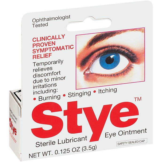 Alternate image 1 for Stye™ .8 oz.  Lubricant Eye Ointment