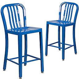 Flash Furniture Metal Indoor/Outdoor Bar Chair