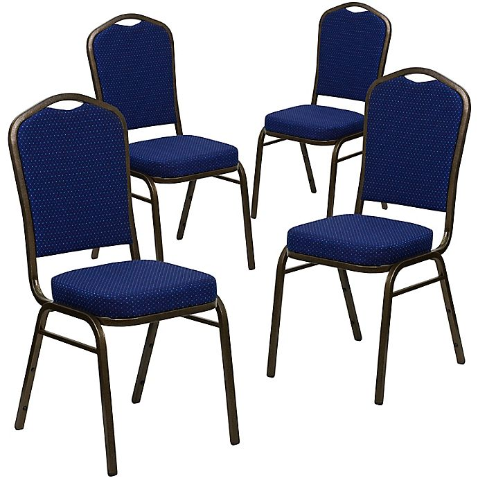 Alternate image 1 for Flash Furniture HERCULES Fabric Banquet Chairs (Set of 4)