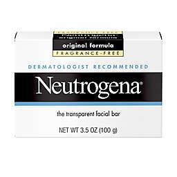Neutrogena® 3.5 oz. Fragrance Free Transparent Facial Bar Soap
