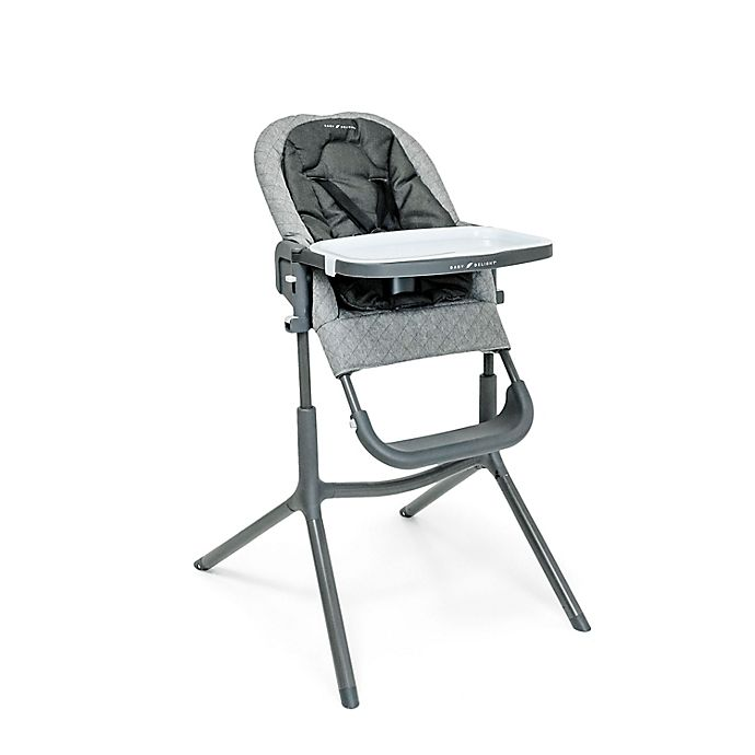 Alternate image 1 for Baby Delight® Levo Deluxe Adjustable High Chair in Charcoal Tweed