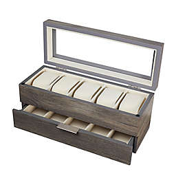 Watch Box in Distressed Grey