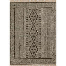 Momeni Bristol Single Geometric 8' x 10' Area Rug in Natural