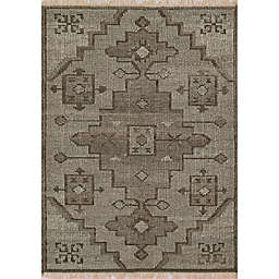Momeni Bristol Medallion 3'6 x 5'6 Handcrafted Area Rug in Natural