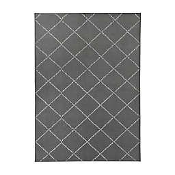 My Magic Carpet Moroccan Diamond Washable Rug