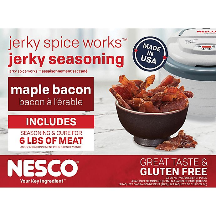 Alternate image 1 for Nesco® 3-Pack Maple Bacon Jerky Seasoning