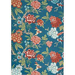 Waverly® Sun N' Shade Vibrant Florals Indoor/Outdoor Rug