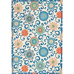 Waverly® Sun N' Shade Vivid Floral Indoor/Outdoor Rug