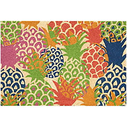 Waverly Greetings Pineapple Accent Rug in Ivory