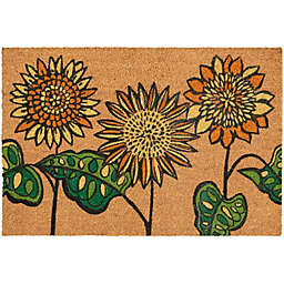 Waverly Greetings Sunflower Accent Rug in Yellow
