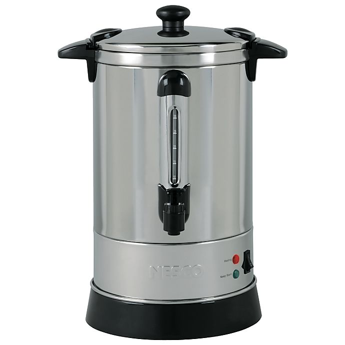 Alternate image 1 for Nesco® 30-Cup Stainless Steel Double-Wall Insulated Electric Coffee Urn