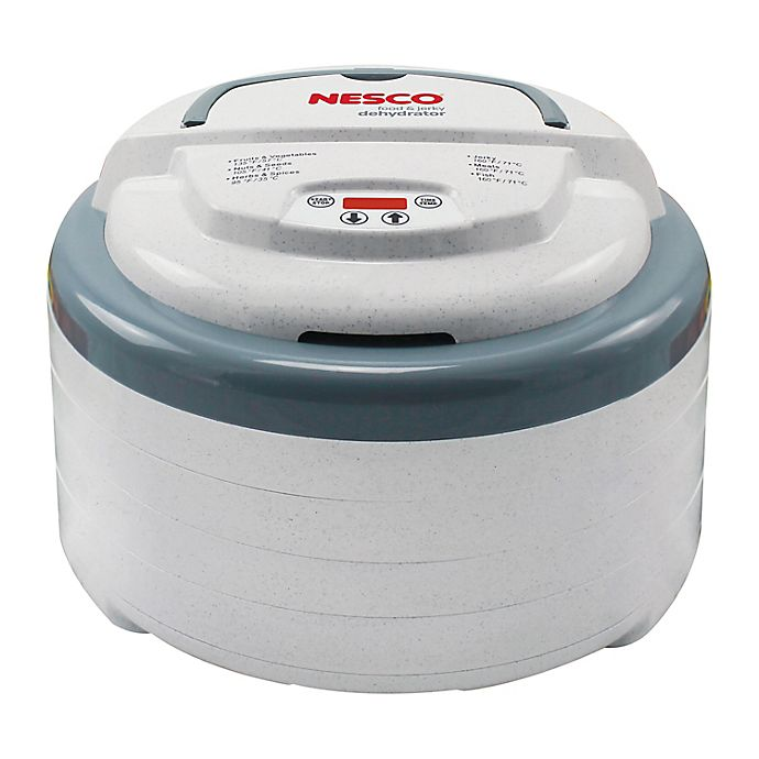 Alternate image 1 for Nesco® 600-watt Top Mounted Food Dehydrator with Timer