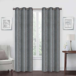 Simply Essential™ Shimmer Grommet Blackout Window Curtain Panels (Set of 2)
